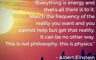 Match your Frequency to the reality you want…